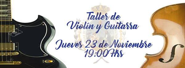 Taller de violín y guitarra
