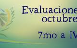 EVALUACIONES OCTUBRE 7MO a IV°