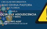 CHARLA REDES SOCIALES Y ADOLESCENCIA