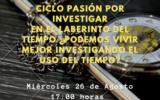 Ciclo Pasión por Investigar - U. Mayor