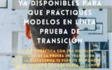 DEMRE Y MINEDUC - Práctica hoy!!  Modelos  en Línea Prueba de Transición
