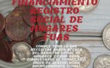 """Financiamiento """"Registro social de hogares - Fuas"""""""