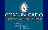 INFORMATIVO A LOS PADRES DE FAMILIA