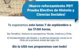 Reforzamiento PDT Historia y Ciencias Sociales - USS