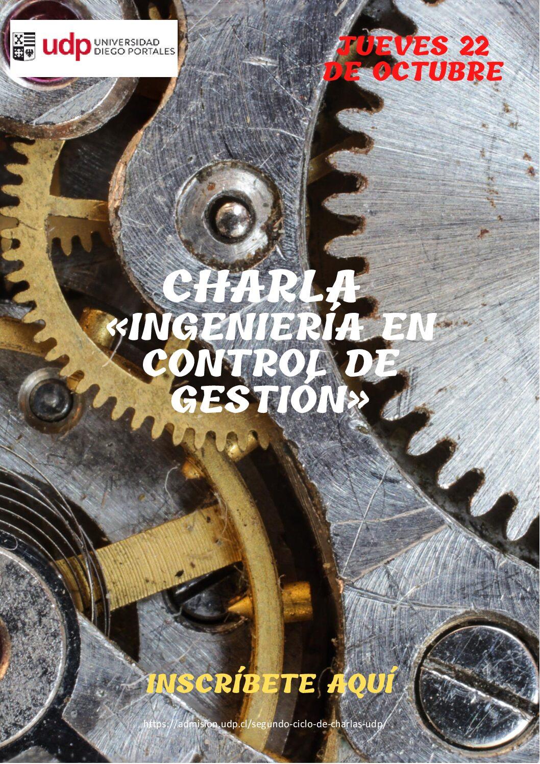Charla Ingeniería en Control de Gestión