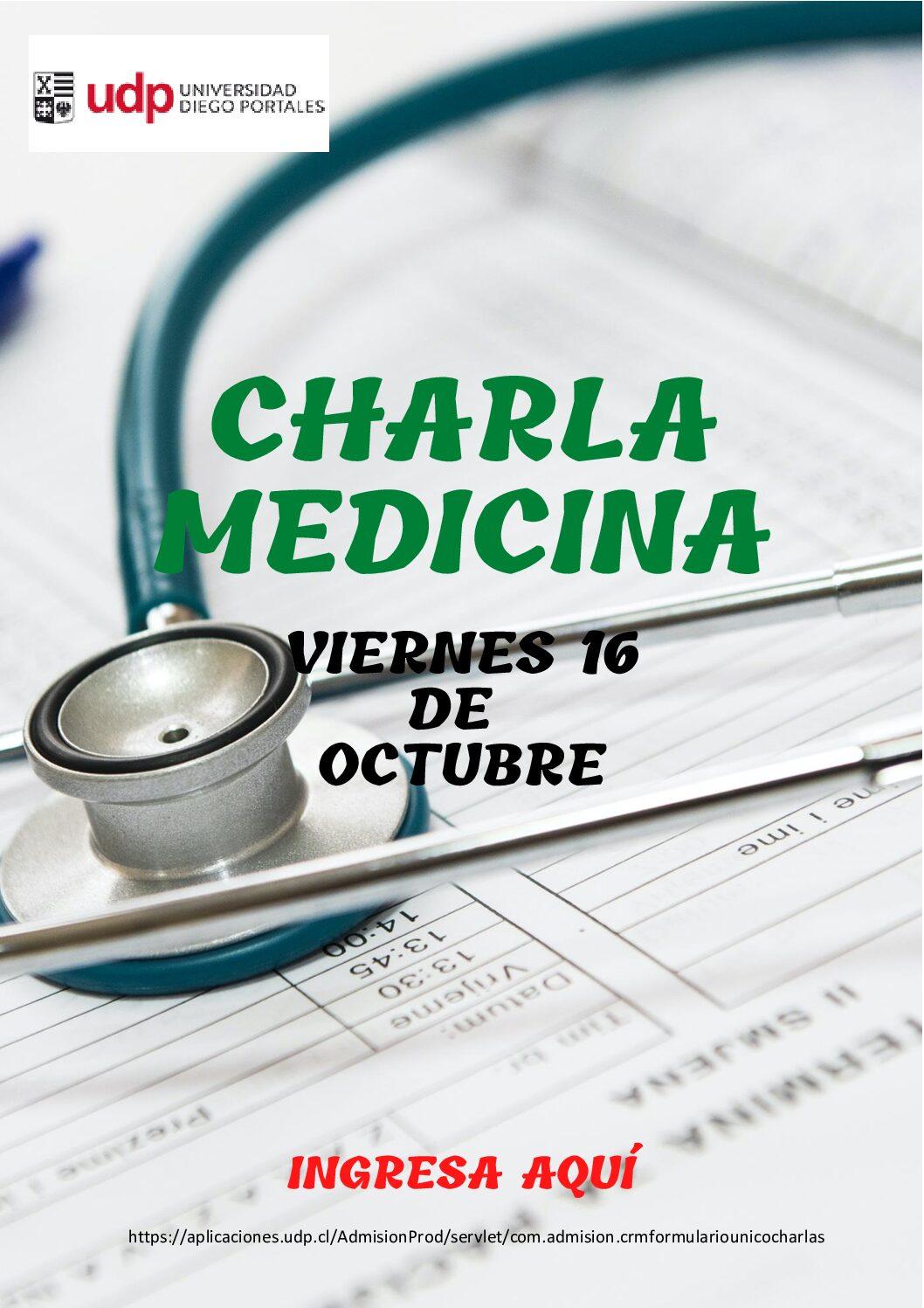 Charla Medicina
