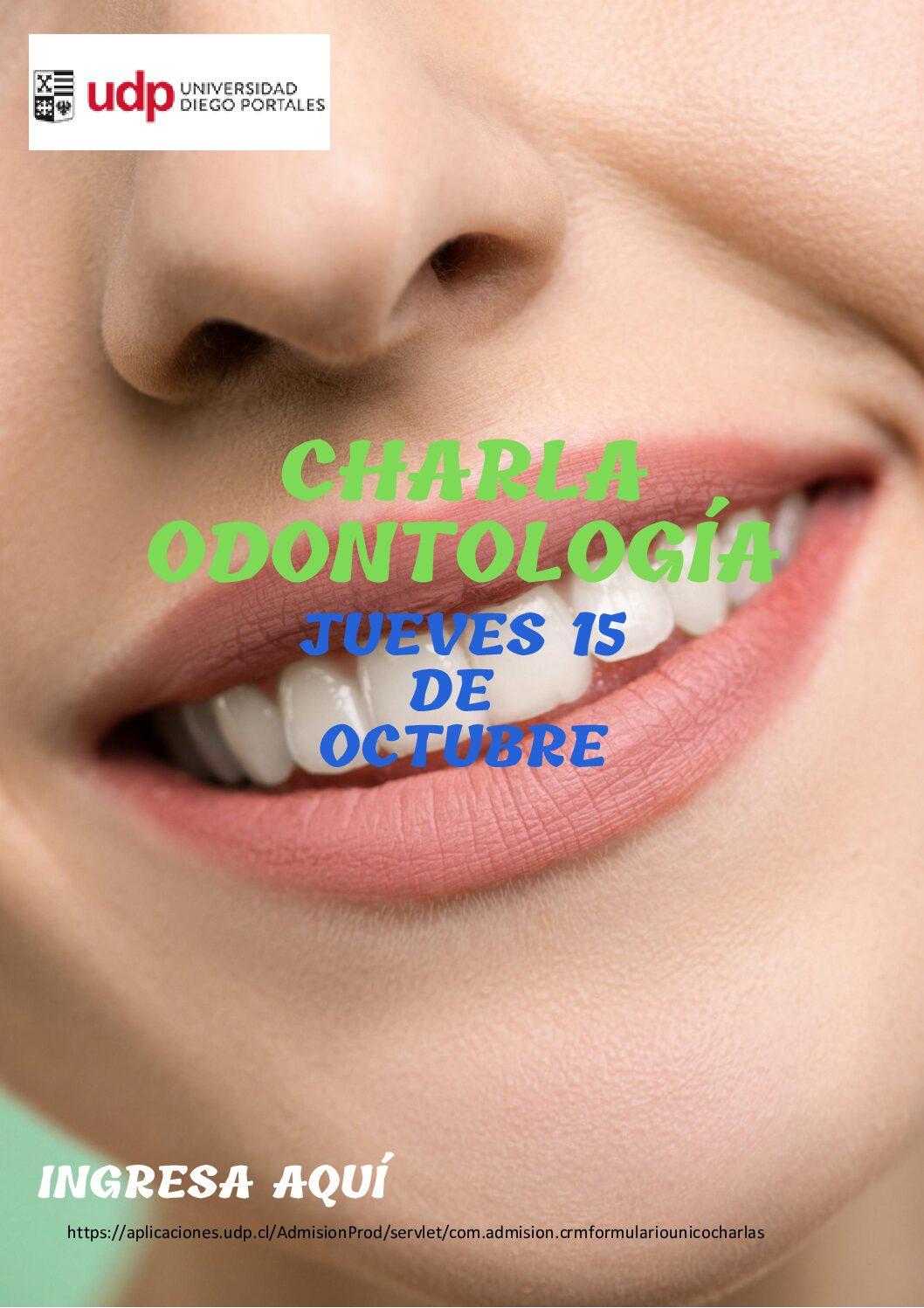 Charla Odontología