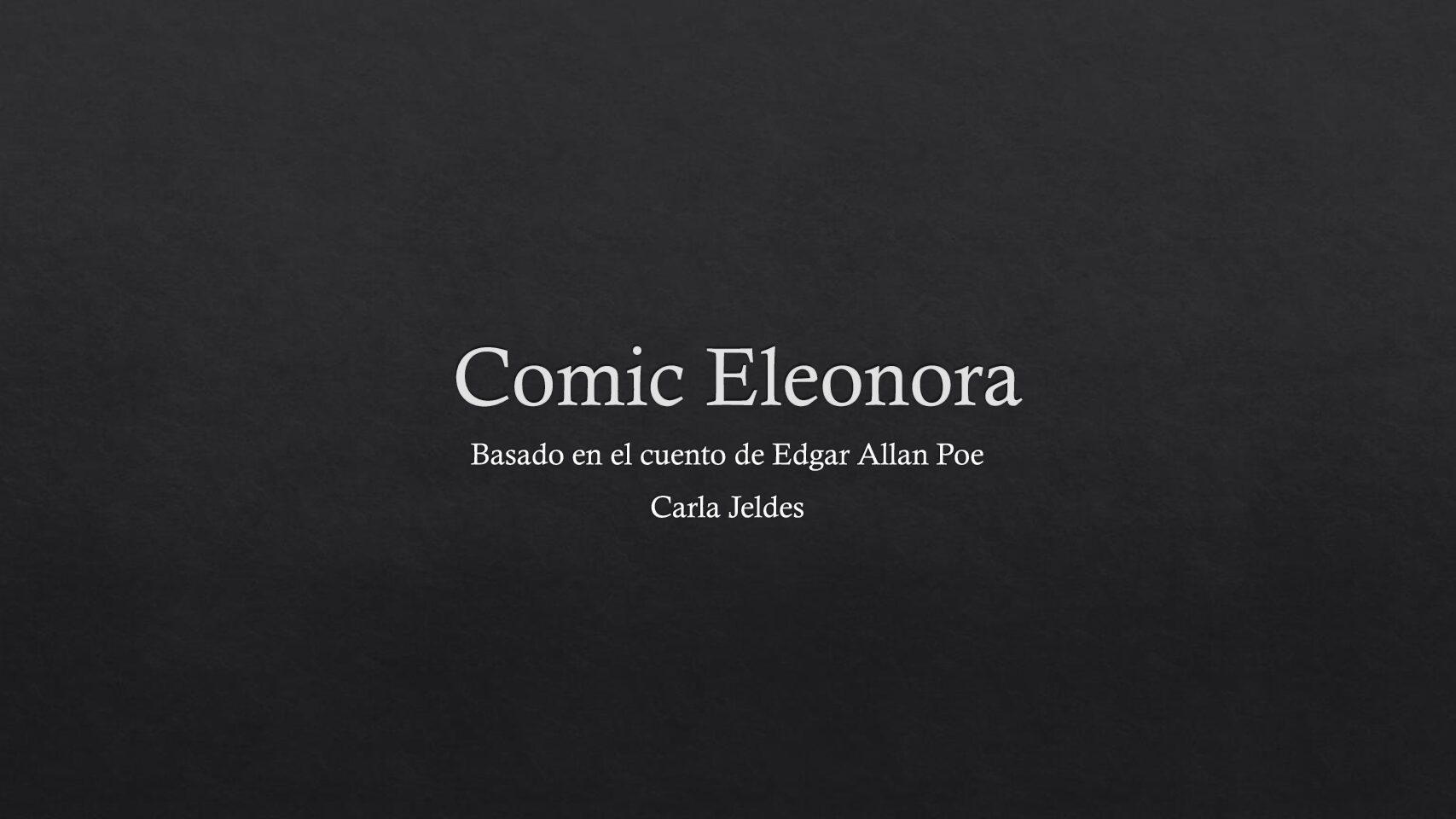 Eleonora Carla Jeldes I° B