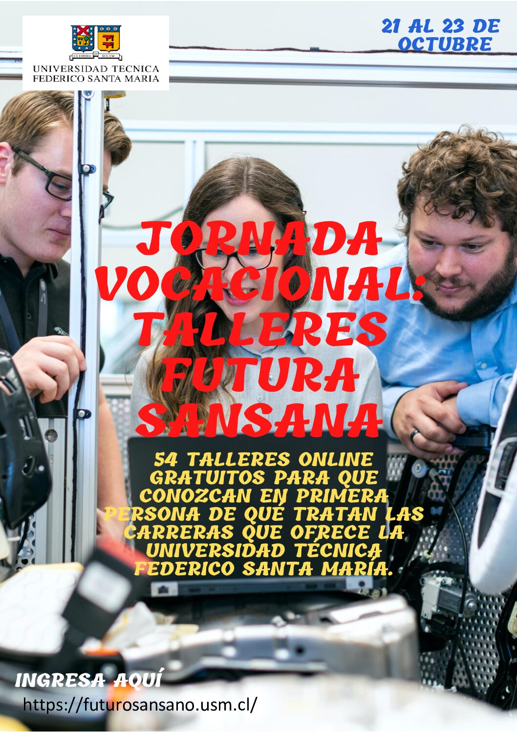 "Jornada Vocacional: ""Talleres Futura Sansana"""