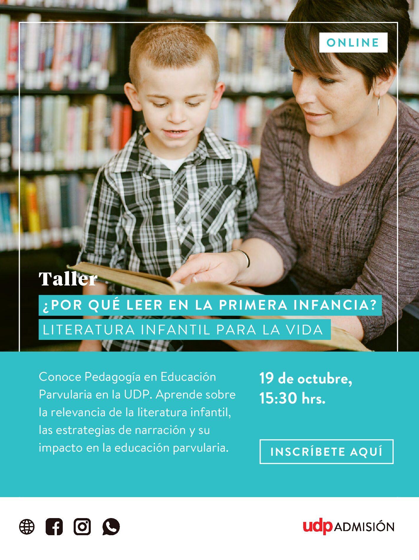 Taller Pedagogía en Educación Parvularia UDP