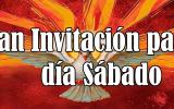 GRAN INVITACIÓN PARA VIGILIA EL DÍA SÁBADO