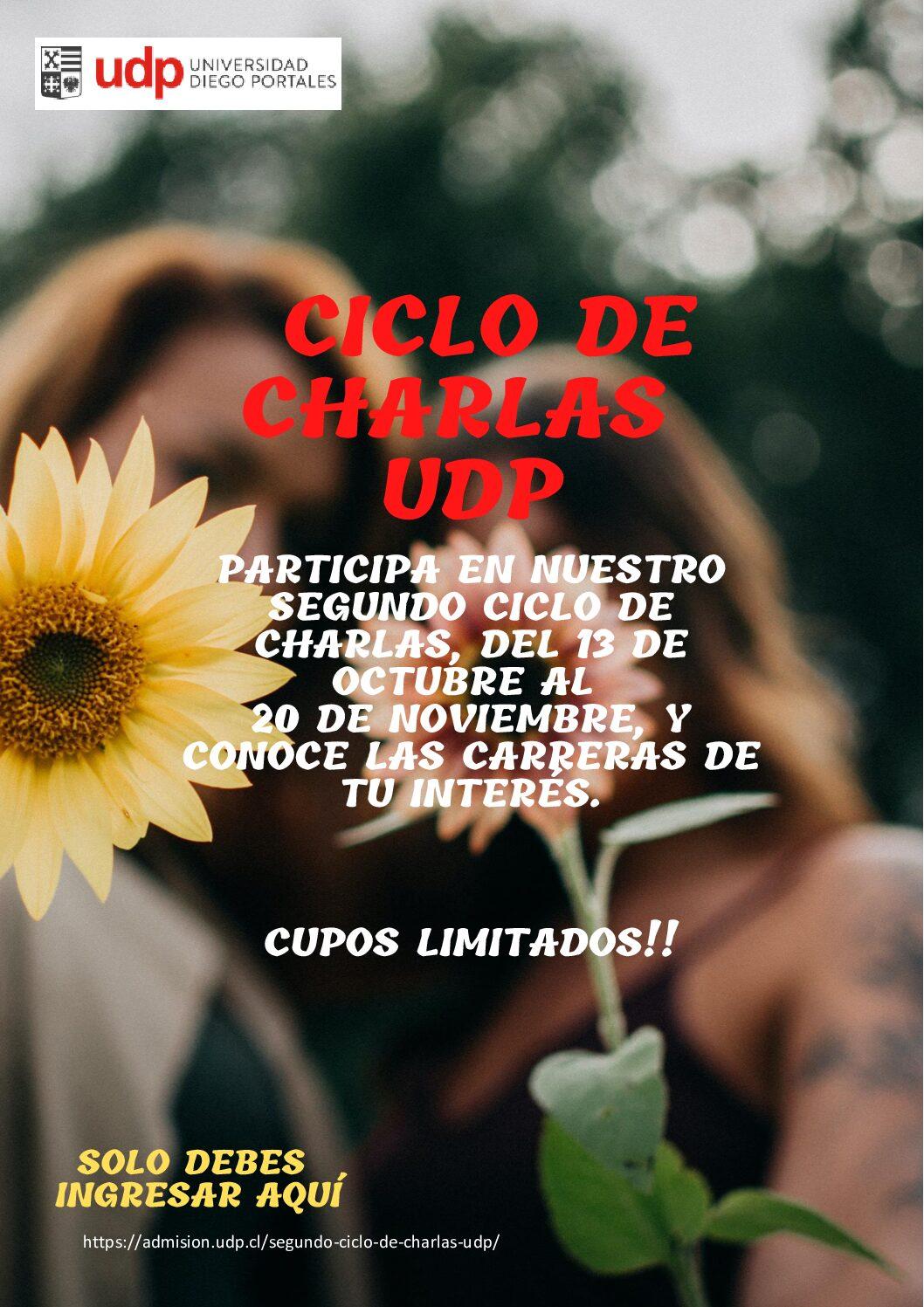 Ciclo de Charlas UDP
