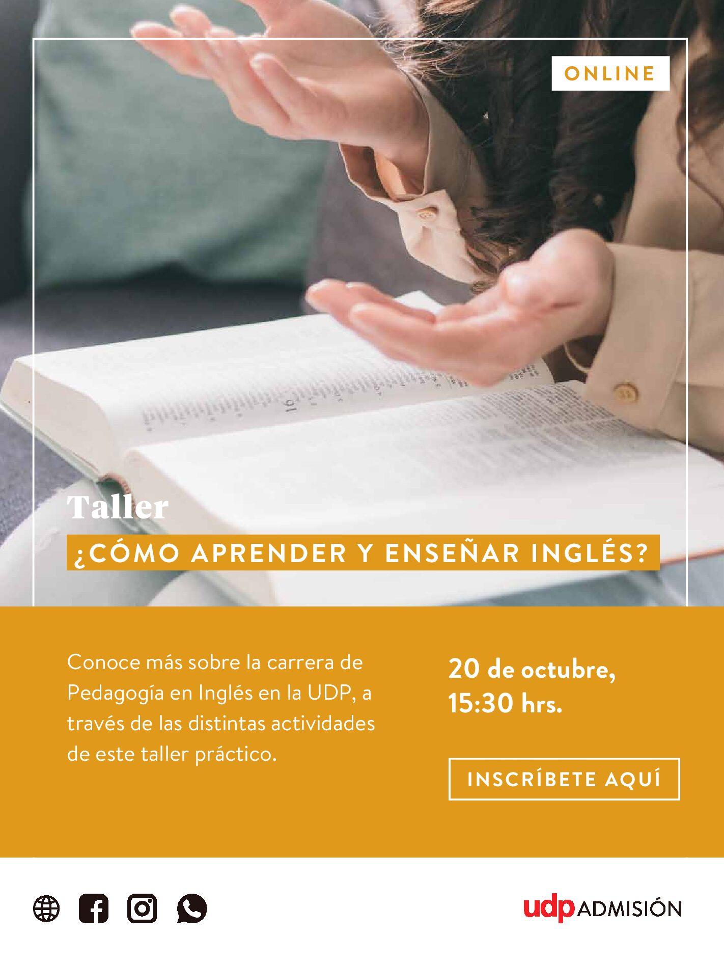 Taller Pedagogía en Inglés UDP