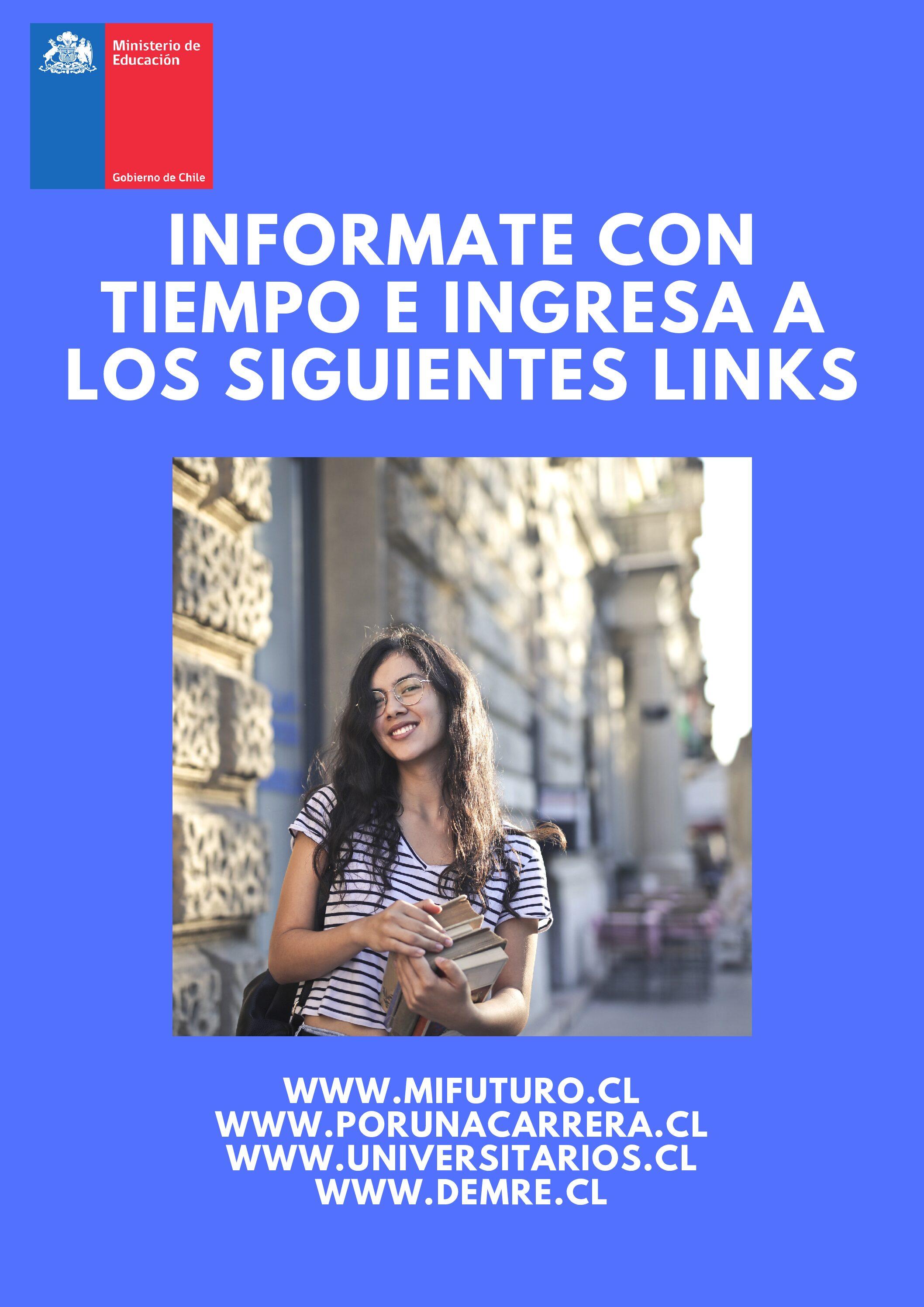 Link Informativos Educación Superior